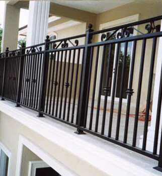 ornamental balcony railings miami
