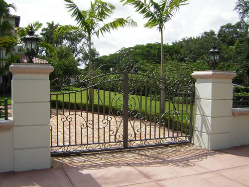 ornamental wrought iron gate manufacturer miami